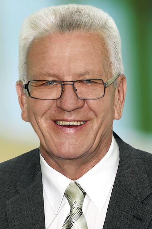 Ministerpräsident Winfred Kretschmann